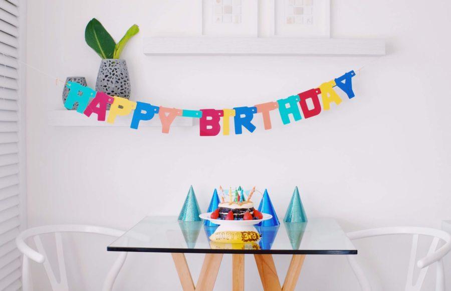 誕生日のお祝いメッセージ、英語